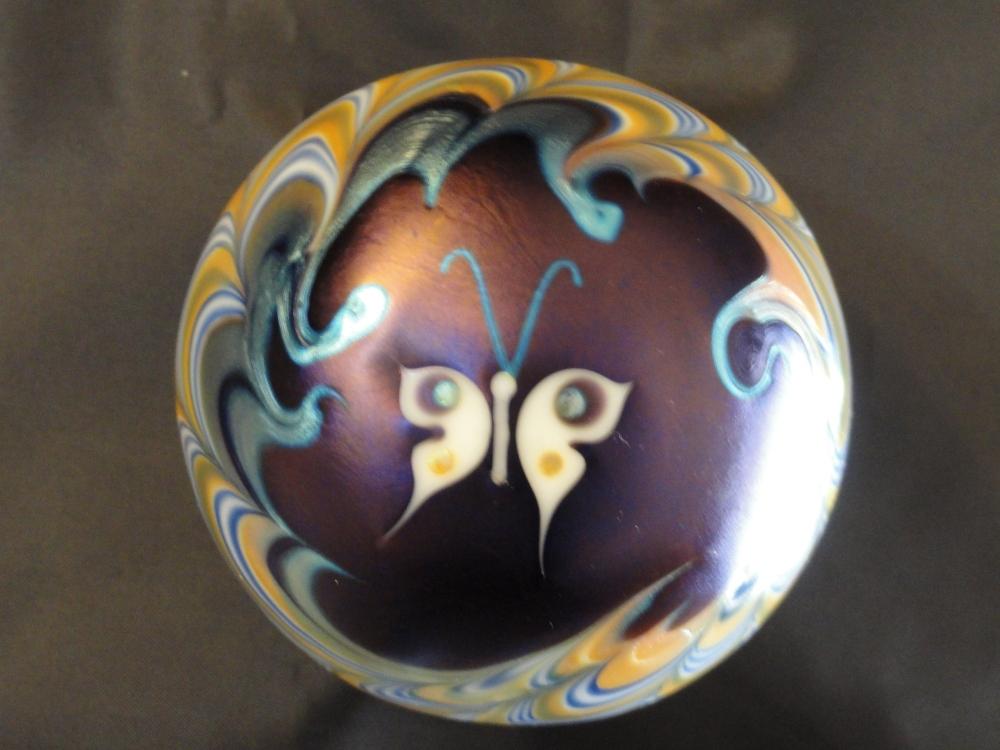 Paperweights - Contemorary American Studio Glass Artist - Lundberg (4/6)
