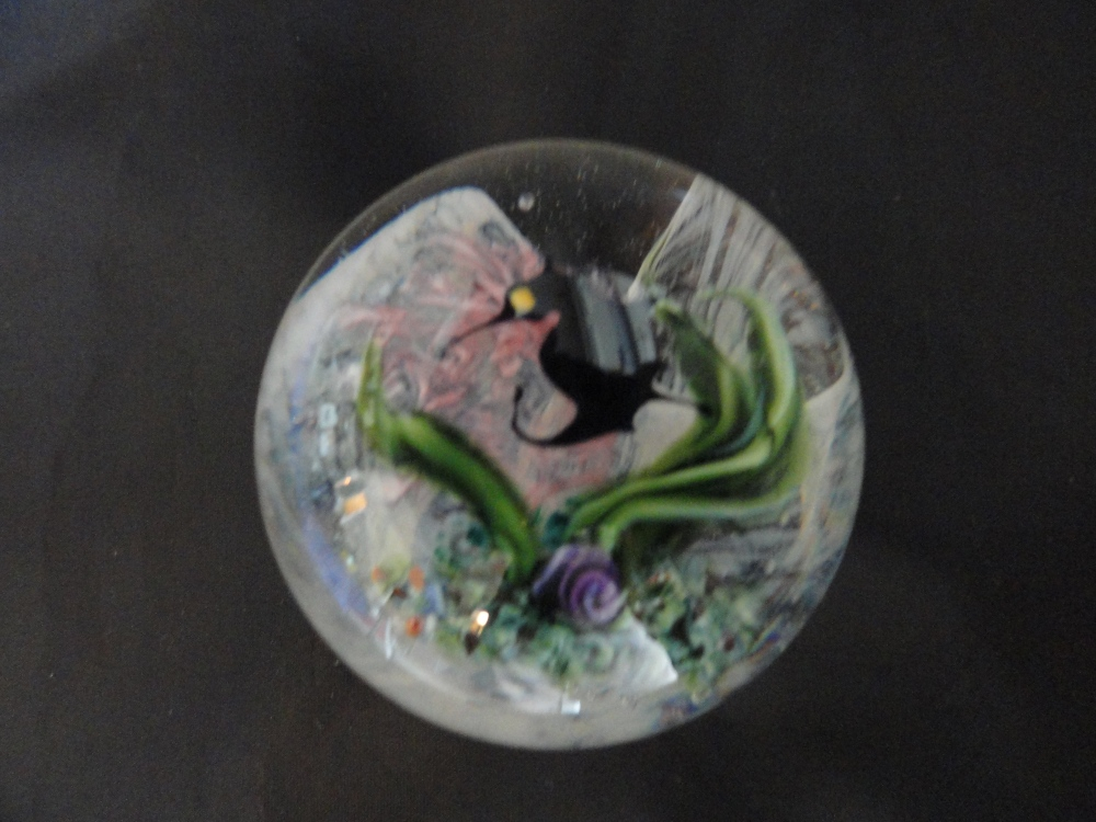 Paperweights - Contemorary American Studio Glass Artist - Lundberg (6/6)